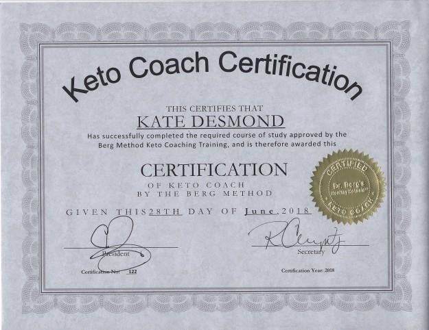 KETO Coaching Certificate (1)